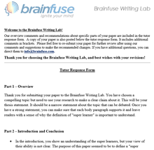 Writing Lab Review