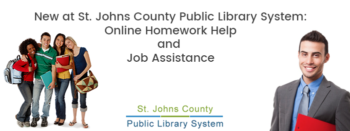 Handy educational app helps Johns County Public Libraries bring free tutoring to students in St. Augustine.