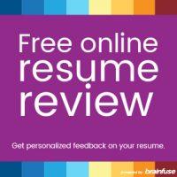 JobNow Web Promo Resume Review